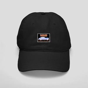 """Packard Slogan"" Black Cap"