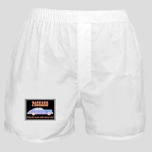 """""""Packard Slogan"""" Boxer Shorts"""