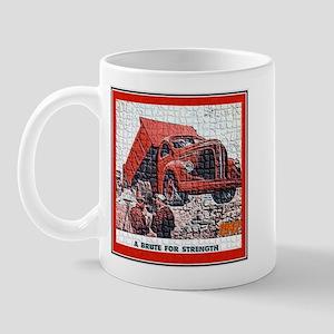 """""""1947 REO Truck Ad"""" Mug"""