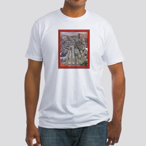 """Christmas-1946"" Fitted T-Shirt"