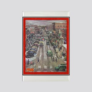 """Christmas-1946"" Rectangle Magnet"