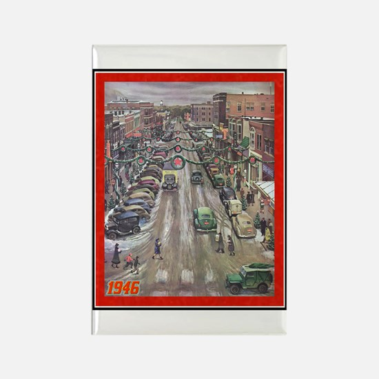 """Christmas-1946"" Rectangle Magnet"