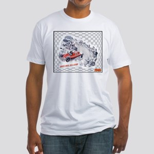 """""""1946 Cadillac Ad"""" Fitted T-Shirt"""