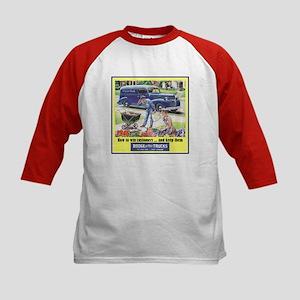 """1946 Dodge Truck Ad"" Kids Baseball Jersey"