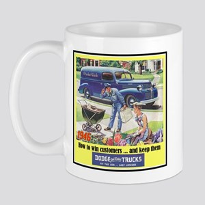 """1946 Dodge Truck Ad"" Mug"