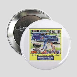 """""""1946 Dodge Truck Ad"""" 2.25"""" Button"""