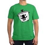 The Happy Rice Cooker Men's Fitted T-Shirt (dark)
