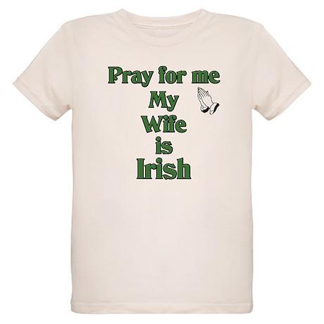 Pray for me my Wife is Irish Organic Kids T-Shirt