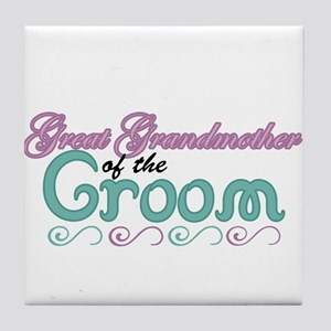 Great Grandmother of the Groom Tile Coaster