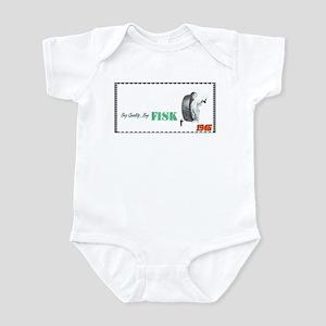 """1946 Fisk Tire Ad"" Infant Bodysuit"