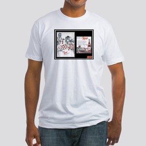 """1946 Spur Cola Ad"" Fitted T-Shirt"