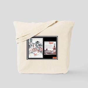 """""""1946 Spur Cola Ad"""" Tote Bag"""