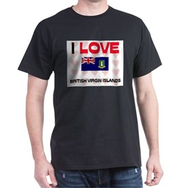 I Love British Virgin Islands T-Shirt