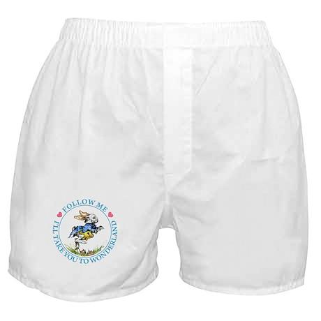 I'LL TAKE YOU TO WONDERLAND Boxer Shorts