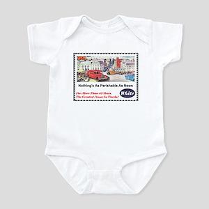 """""""1946 White Trucks Ad"""" Infant Bodysuit"""