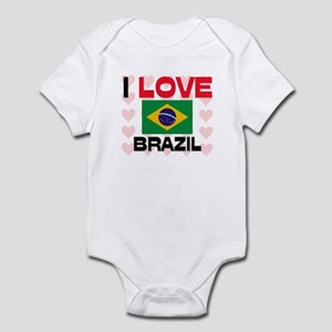 I Love Brazil Infant Bodysuit