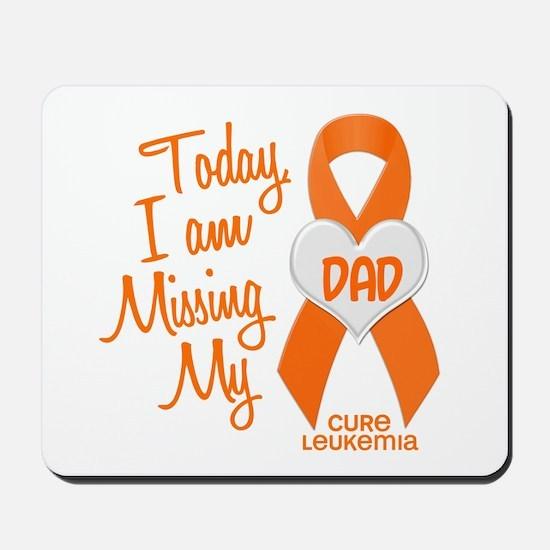 Missing My Dad 1 LEUKEMIA Mousepad