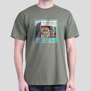 """1946 Wurlitzer Ad"" Dark T-Shirt"