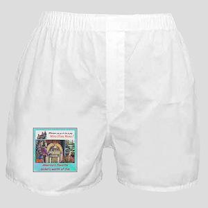 """1946 Wurlitzer Ad"" Boxer Shorts"