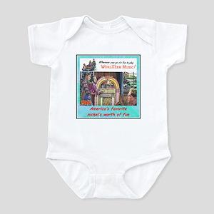"""""""1946 Wurlitzer Ad"""" Infant Bodysuit"""