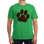 Friendly Paws Men's Fitted T-Shirt (dark)
