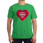 Share Your Heart Men's Fitted T-Shirt (dark)