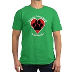 Touch Your Heart (3) Men's Fitted T-Shirt (dark)