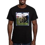 Dreams v2 Men's Fitted T-Shirt (dark)