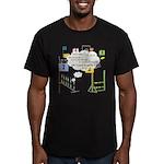 Snooker Math Men's Fitted T-Shirt (dark)