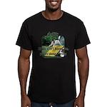 Agility Fun! Men's Fitted T-Shirt (dark)
