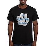 Love My Earthdog Men's Fitted T-Shirt (dark)