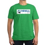 Love Flyball Men's Fitted T-Shirt (dark)
