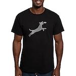 Disc Dog Men's Fitted T-Shirt (dark)