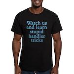 Watch Us Men's Fitted T-Shirt (dark)
