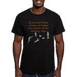Sense of Humor Men's Fitted T-Shirt (dark)