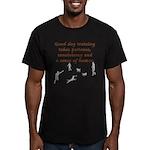 Good Dog Training Men's Fitted T-Shirt (dark)