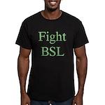 Fight BSL Men's Fitted T-Shirt (dark)