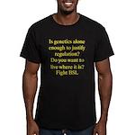 Genetics BSL Men's Fitted T-Shirt (dark)