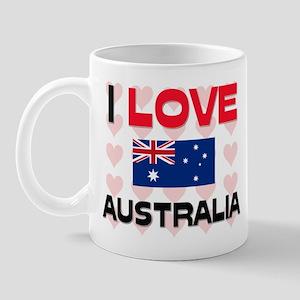 I Love Australia Mug