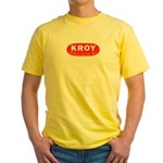 KROY Sacramento 1962 -  Yellow T-Shirt