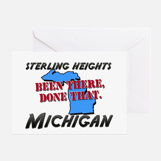 sterling heights michigan - been there, done that