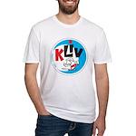 KLIV San Jose 1965 - Fitted T-Shirt