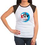 KLIV San Jose 1965 - Women's Cap Sleeve T-Shirt
