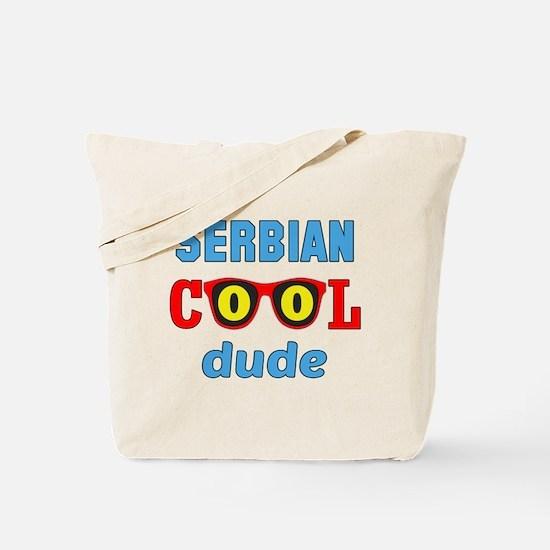 Serbian Cool Dude Tote Bag