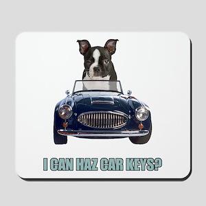 LOL Boston Terrier Mousepad