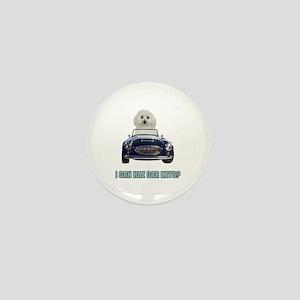 LOL Bichon Frise Mini Button