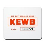 KEWB Oakland/San Fran 1959 -  Mousepad
