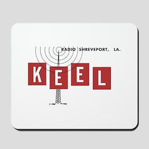 KEEL Shreveport 1968 -  Mousepad