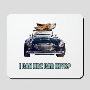 LOL Basset Hound Mousepad
