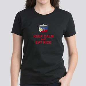 Keep Calm and Eat Rice T-Shirt